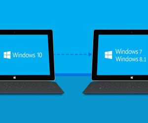 Как вернуться с Windows 10 на Windows 8.1 или Windows 7