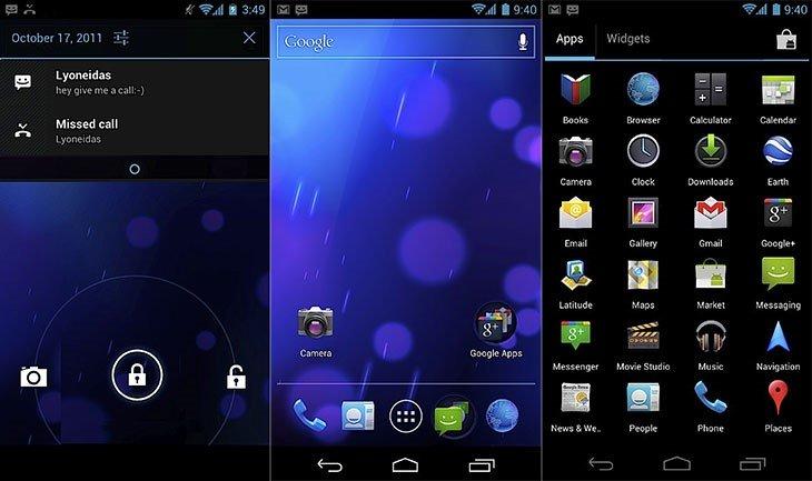 Android 4.0 IceCreamSandwich