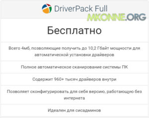 DriverPack Solution Full