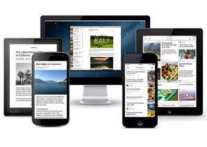 Pocket для сохранения страниц в браузере